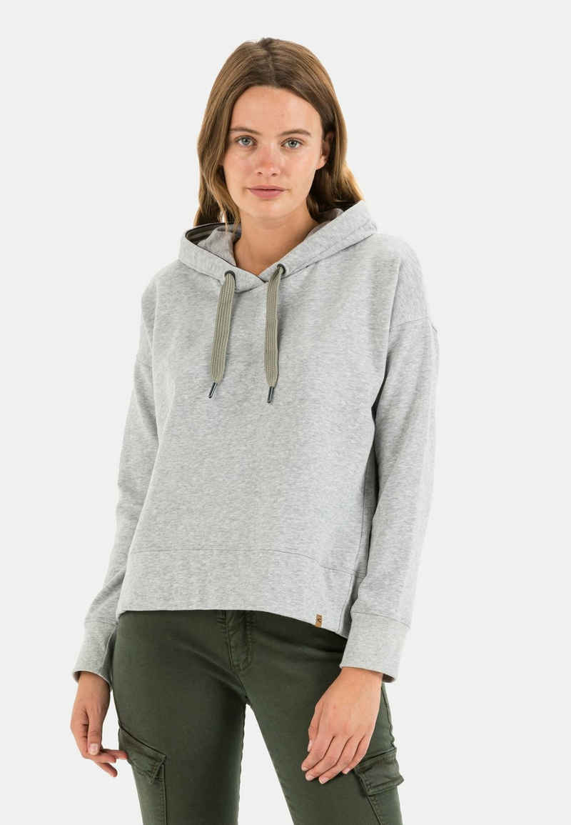 camel active Hoodie »Sweatshirt aus Baumwolle«