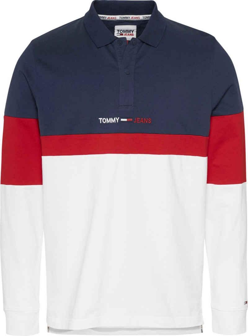 Tommy Jeans Langarm-Poloshirt »TJM REG COLORBLOCK POLO L/S«