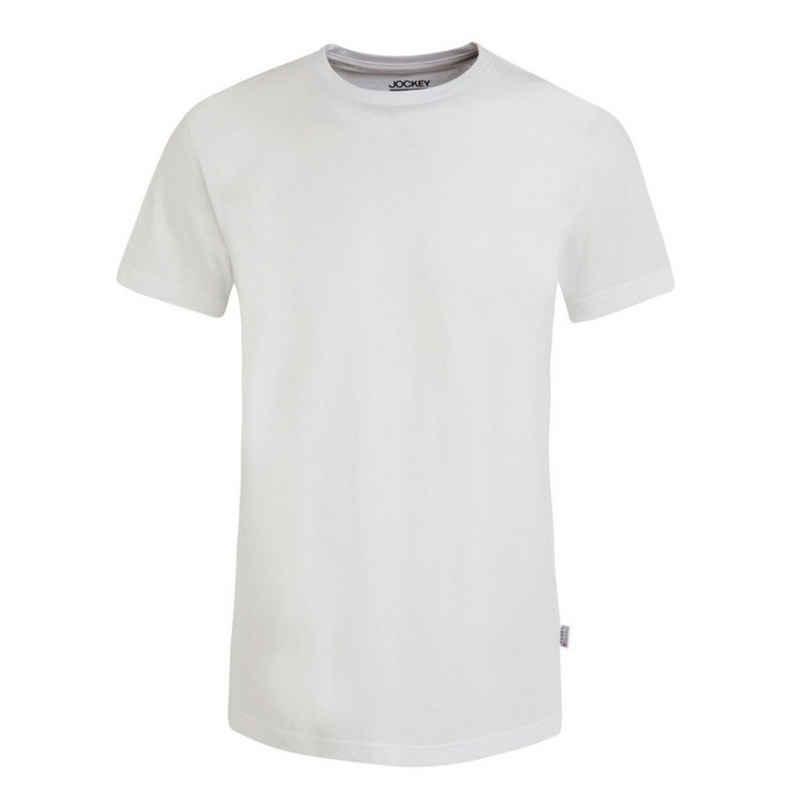 Jockey Unterhemd »USA Originals« (2 Stück), T-Shirt mit Rundhals - Lockere Passform, 100% Baumwolle, Flache Nähte