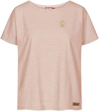 Derbe T-Shirt »Golden Anchor« mit angeschnittenem Ärmel