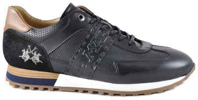 La Martina »Made in Italy« Sneaker mit feiner Perforation