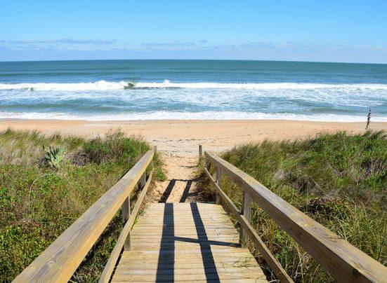Fototapete »Dunes St Augustine«, glatt