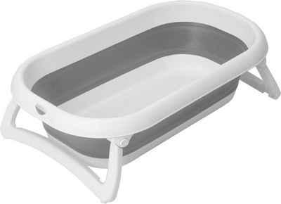 Rotho Babydesign Babywanne »Faltbadewanne - Baby Bath 2 go«, Babybadewanne mit Wassertemperaturmessung am Ablaufstopfen