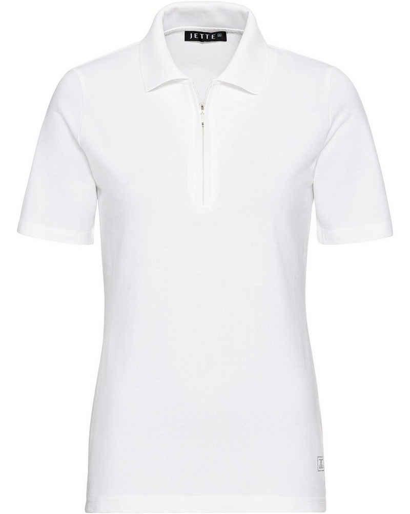 JETTE Poloshirt »Piqué-Poloshirt«