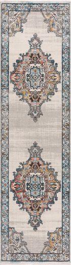 Läufer »Novel 8640«, Carpet City, rechteckig, Höhe 11 mm, mit Fransen