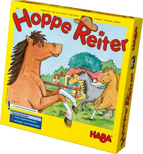 Haba Spiel, »Hoppe Reiter«, Made in Germany