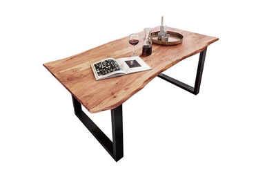 SAM® Baumkantentisch »Quinn«, Akazie Massivholz naturfarben 26mm natürliche Baumkante