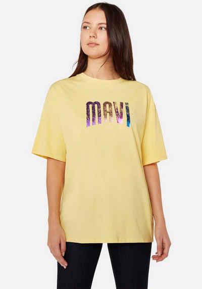Mavi T-Shirt »PRINTED LOGO« mit Logo Frontdruck