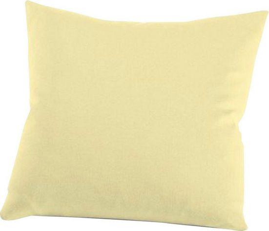 Kissenbezug »Nelke«, Schlafgut (1 Stück), Interlock-Jersey, soft und weich