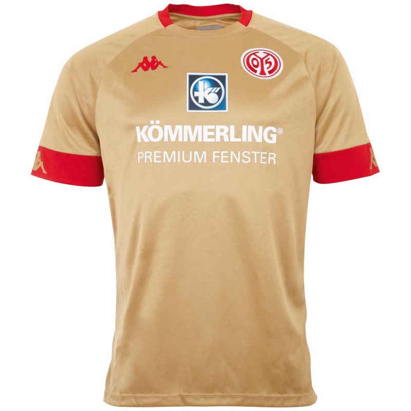 Kappa Fußballtrikot »MAINZ 05 AUSWEICHTRIKOT« mit dem Mainzer Stadtwappen im Nackenbereich