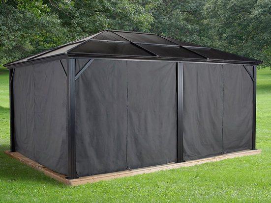 SOJAG Pavillonseitenteile Vorhang-Set für Pavillon Meridien
