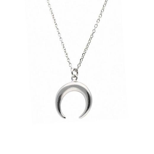 Smart Jewel Kette mit Anhänger »Halbmond, Silber 925«