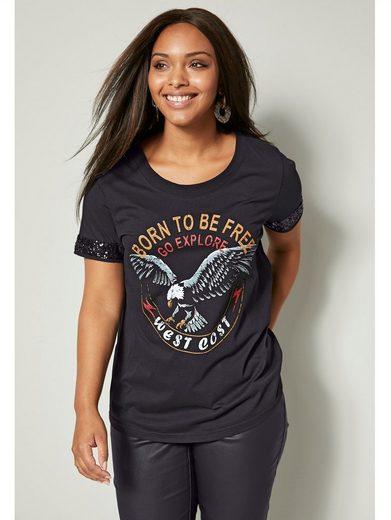 Angel of Style by HAPPYsize Shirt aus reiner Baumwolle