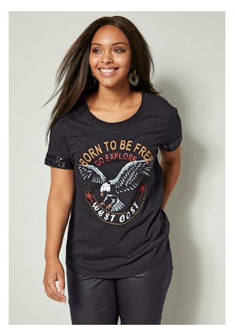 Angel of Style by HAPPYsize Shirt iš grynos Baumwolle