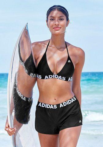 adidas Performance Badeshorts su Markenschriftzügen