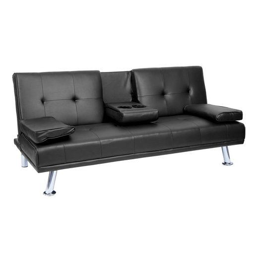MCW 3-Sitzer »MCW-F60«, 3 Sitzplätze, Schlaffunktion, Inklusive klappbarer Tassenhalter, Rückenlehne in 2 Stufen verstellbar