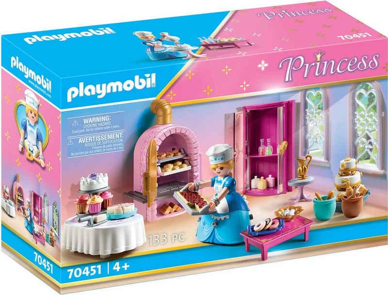 Playmobil® Konstruktions-Spielset »Schlosskonditorei (70451), Princess«, (133 St), Made in Germany