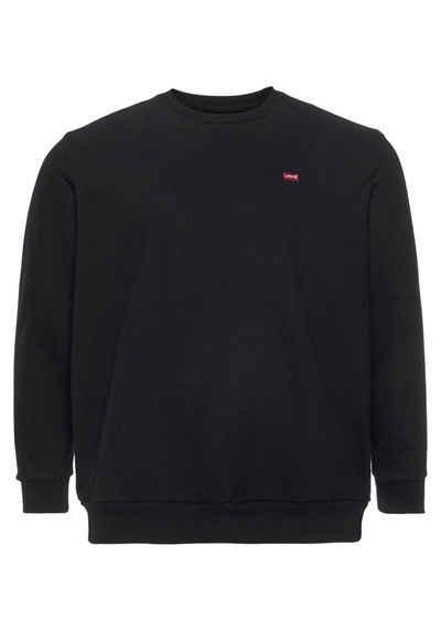 Levi's® Plus Sweatshirt mit dezenter Logostickerei