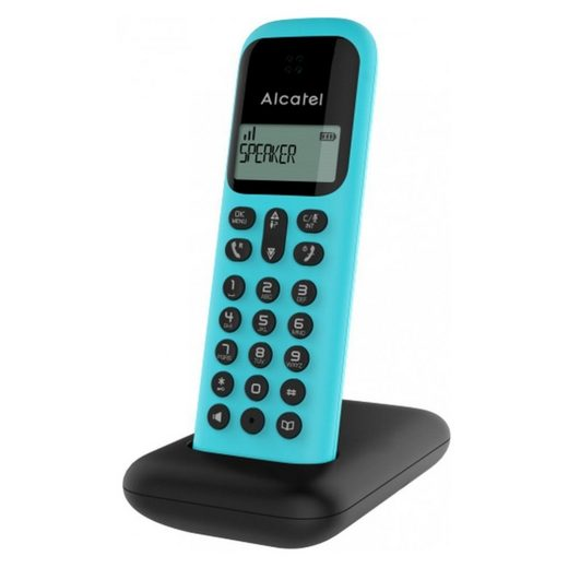 Alcatel »D285 - schnurlos Telefon - türkis« Schnurloses Mobilteil