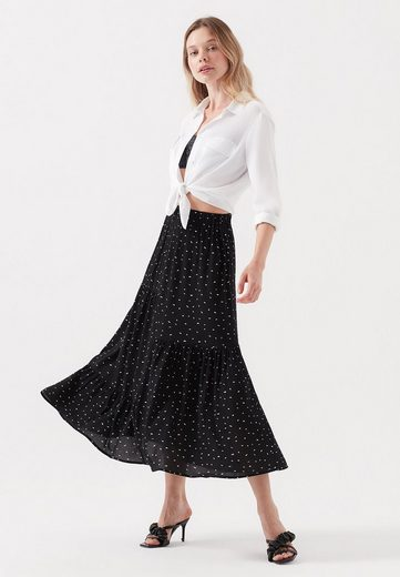 Mavi Maxirock »PLEATED LONG SKIRT« Langer Rock