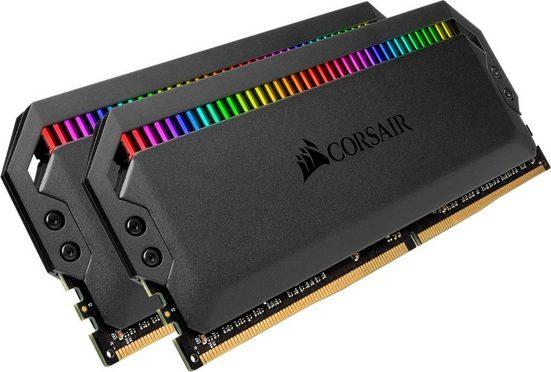 Corsair »DOMINATOR RGB 16 GB (2 x 8 GB) DDR4 DRAM 3.200 MHz C16« PC-Arbeitsspeicher