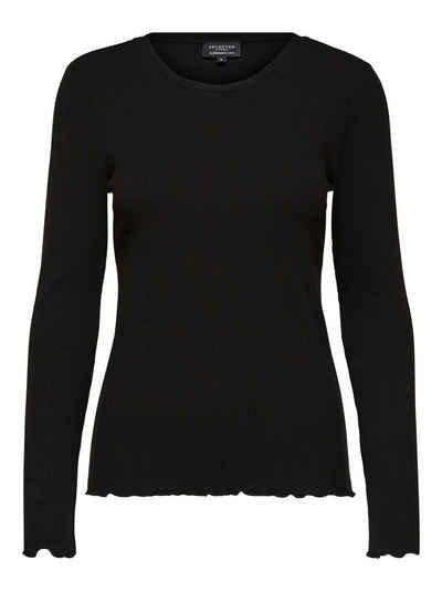 SELECTED FEMME Langarmshirt (1-tlg)