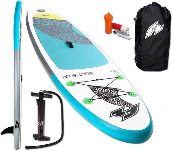 F2 Inflatable SUP-Board »F2 Surf's Up Kids«, (4 tlg), ohne Paddel