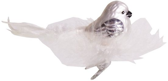 Krebs Glas Lauscha Weihnachtsbaumklammer »CBK50252« (1-tlg), Vogel