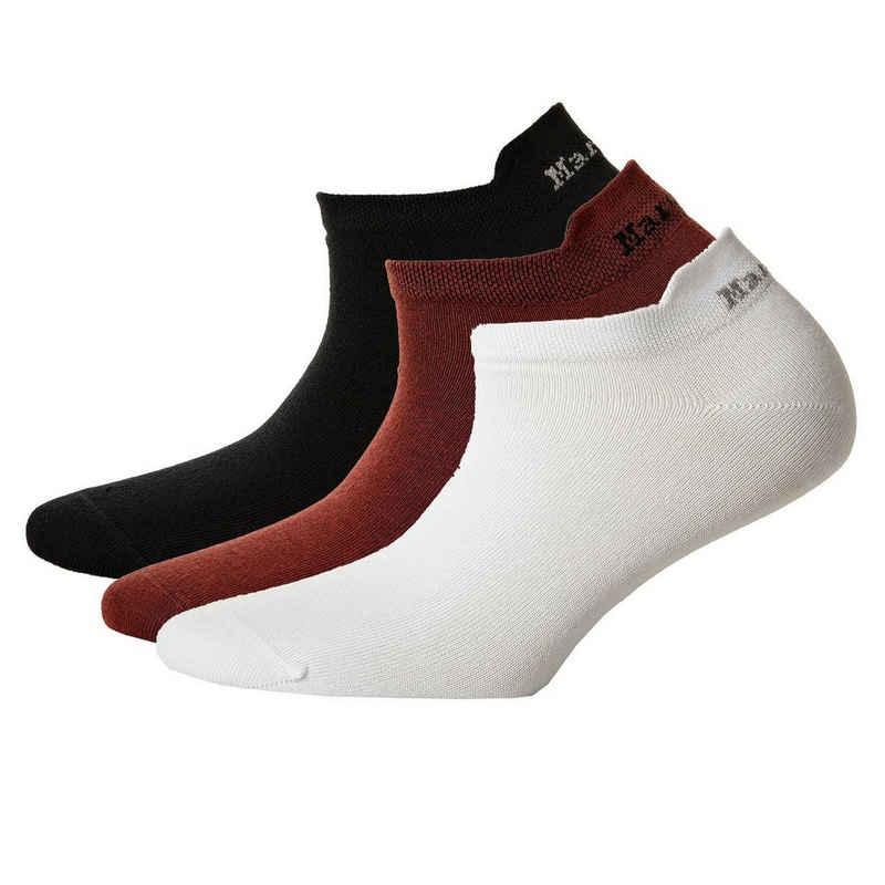 Marc O'Polo Sneakersocken »Damen Sneakersocken, 3er Pack - Kurzsocken,«