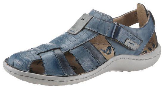 KRISBUT Sandale mit feiner Prägung