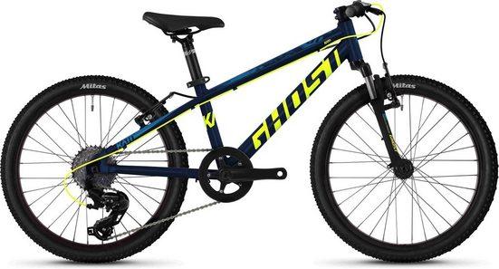 Ghost Mountainbike »Kato 2.0 AL U«, 8 Gang Shimano Tourney TX RD-TX800 8-S Schaltwerk, Kettenschaltung, MIDDLE