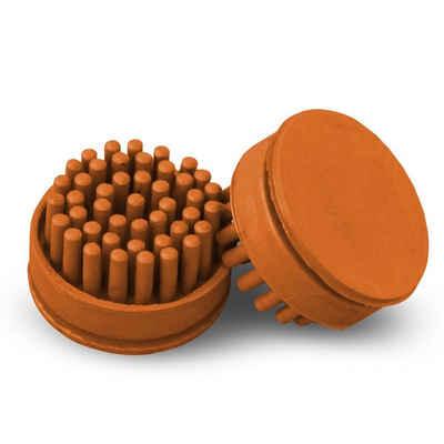 Fußmatte »Bürsteneinsätze für Ringgummimatte Madeira«, Kubus, rund, 10er-Set