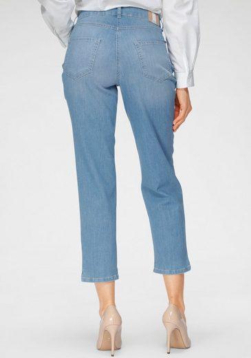 MAC 7/8-Jeans »Melanie-Cropped« Verkürzte Form mit kleinem Schlitz am Saum
