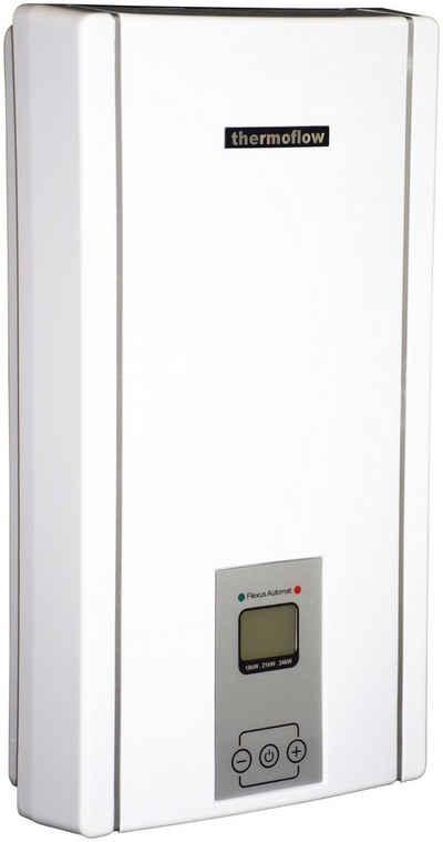 Thermoflow Durchlauferhitzer »Thermoflow Elex 3 in 1«, elektronisch, max 55 °C, Für Nennleistung: 18 / 21 / 24 kW geeignet