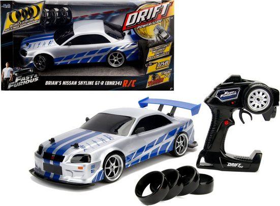 JADA RC-Auto »Fast & Furios, Brians Nissan Skyline GT-R«