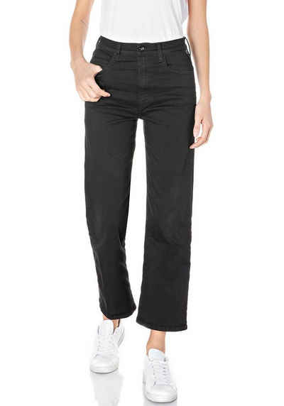 Replay 7/8-Jeans »Reyne-Rose Label« 5-Pocket im Culotte-Style & mit Rose Label Patch