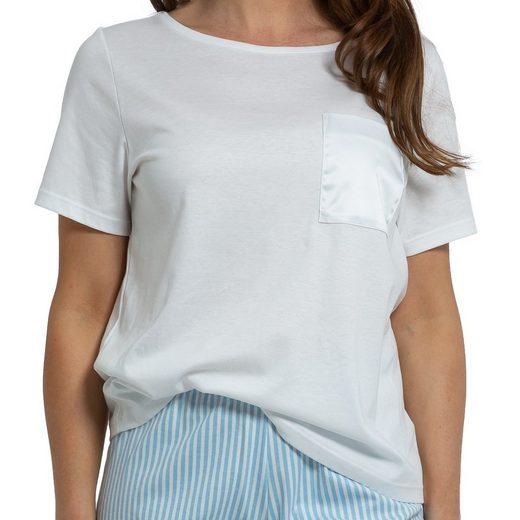 Mey Pyjamaoberteil »Sleepsation« Shirt 1/2 Arm - Organic Cotton - Aus GOTS-zertifizierter Baumwolle, Lockerer Schnitt, Einfach mit der passenden Hose kombinieren