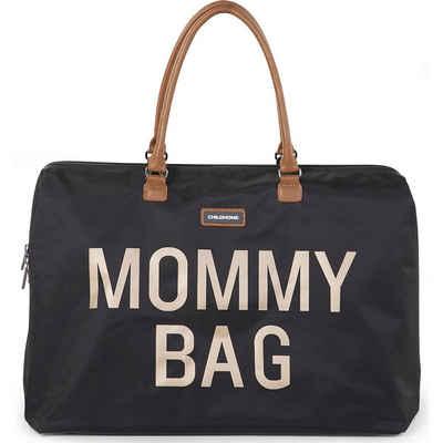 CHILDHOME Wickeltasche »Wickeltasche Mommy Bag, schwarz/gold«
