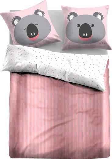 Kinderbettwäsche »Nina«, TOM TAILOR, mit tollem Motiv Koala