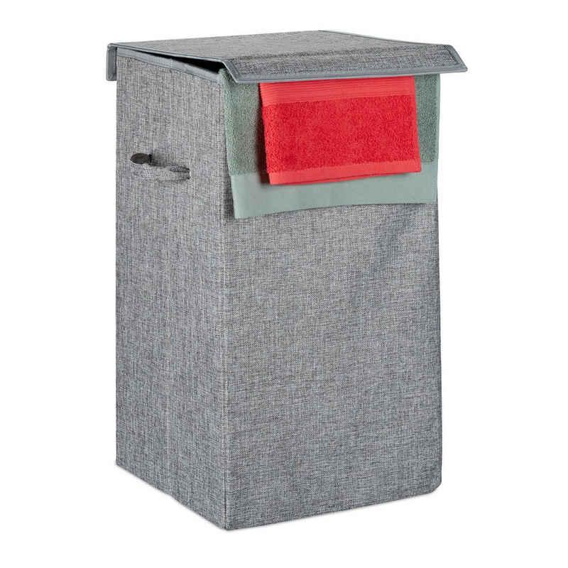 relaxdays Wäschekorb »Faltbarer Wäschekorb«