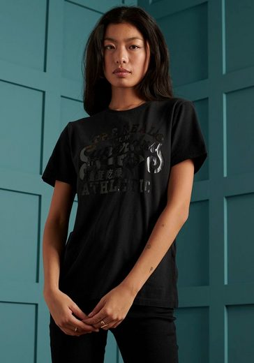 Superdry T-Shirt Black Out T-Shirt