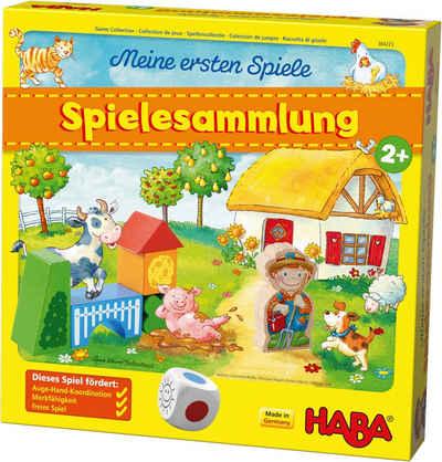 Haba Spiel, »Meine ersten Spiele - Spielesammlung«, Made in Germany