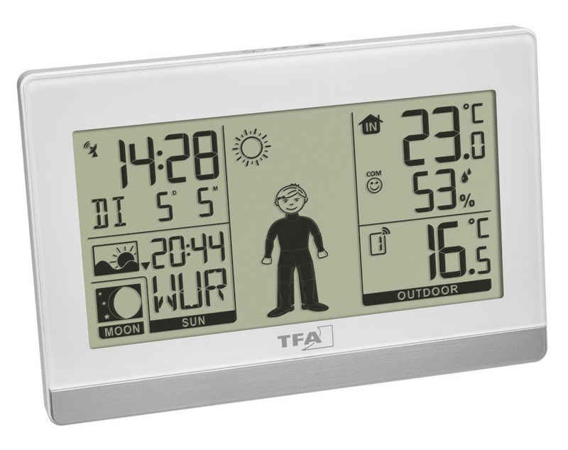 TFA Dostmann »Weather Boy TFA 35.1159 Funkuhr digital« Funkwetterstation