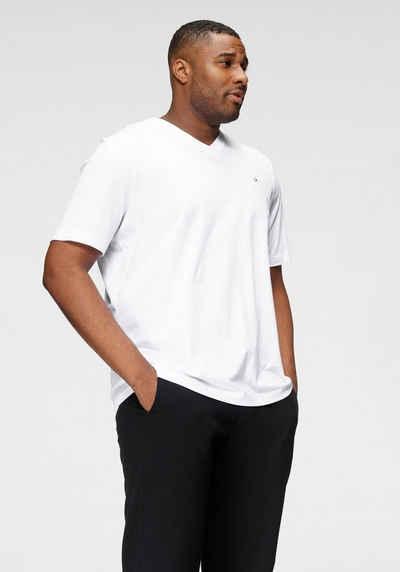 Calvin Klein Big&Tall T-Shirt »BT-LOGO EMBR V-NECK T-SHIRT«