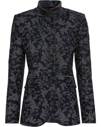 Reitmayer Trachtenjacke »Lange Jacke mit Blumendruck«