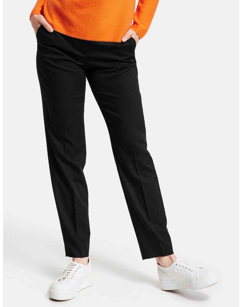 GERRY WEBER Stoffhose »Hose mit Bügelfalten« (1-tlg)