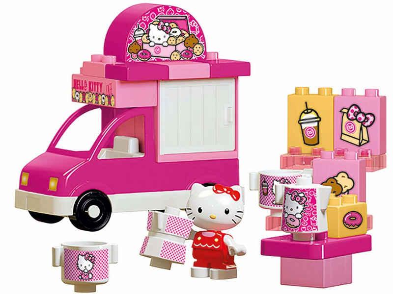 BIG Spielbausteine »BIG-Bloxx Hello Kitty Eiswagen«, (26 St)