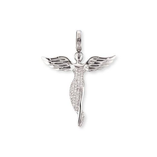 Engelsrufer Kettenanhänger »Anhänger Engel mit weißen synth. Zirkoni«