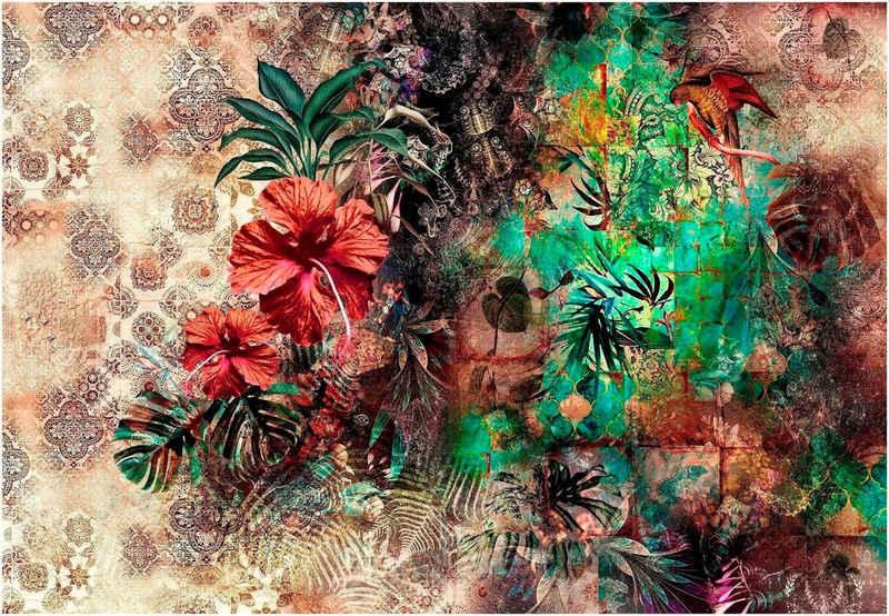 Komar Fototapete »Sherazade«, glatt, bedruckt, Wald, geblümt, (Set), ausgezeichnet lichtbeständig