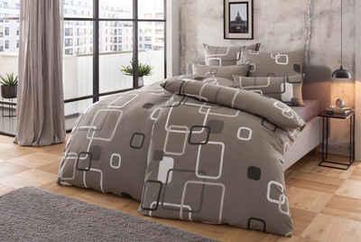 Bettwäsche »Quadro«, my home, mit modernen Vierecken